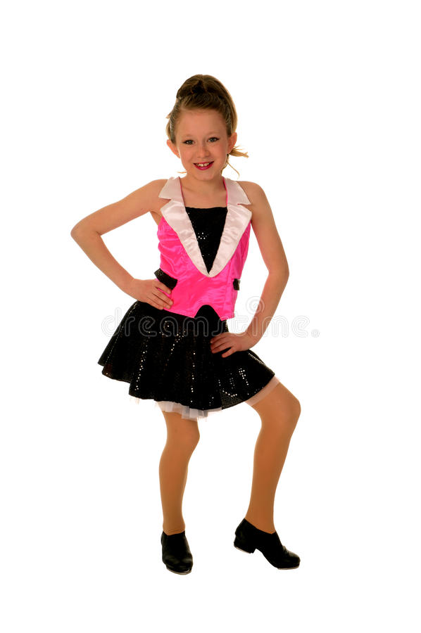 детеныши крана танцора счастливые стоковое изображение