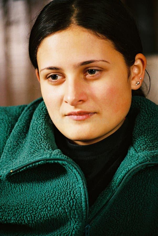 Download детеныши красивейшей девушки думая Стоковое Фото - изображение насчитывающей довольно, интеллектуально: 81080