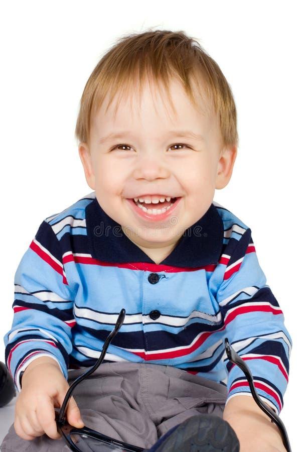 детеныши мальчика стоковые фото