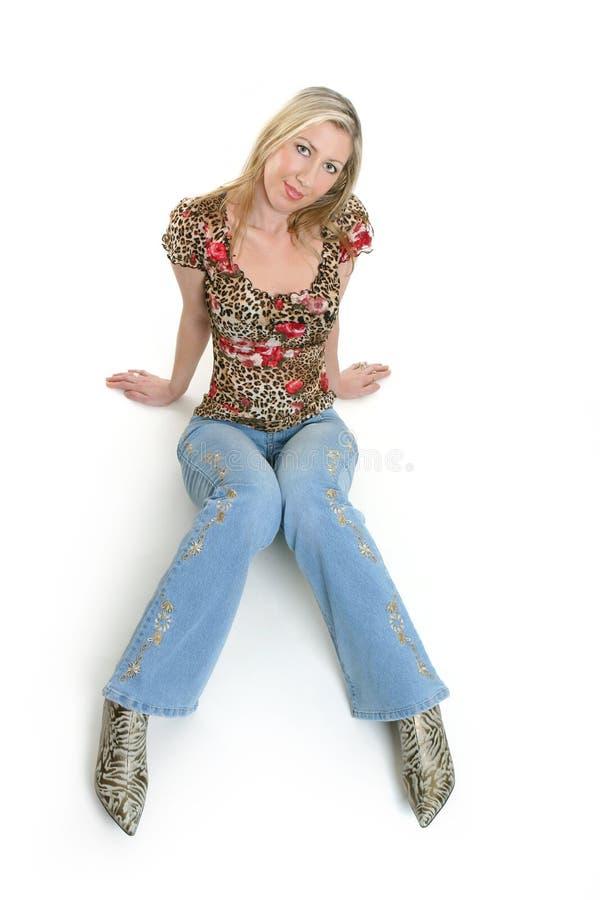 детеныши модной женщины стоковые изображения rf