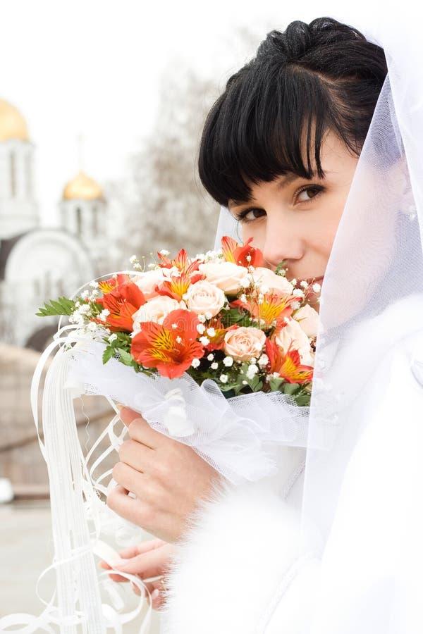 детеныши невесты стоковое фото