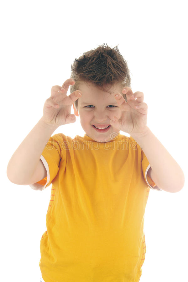 детеныши портрета мальчика стоковое фото rf