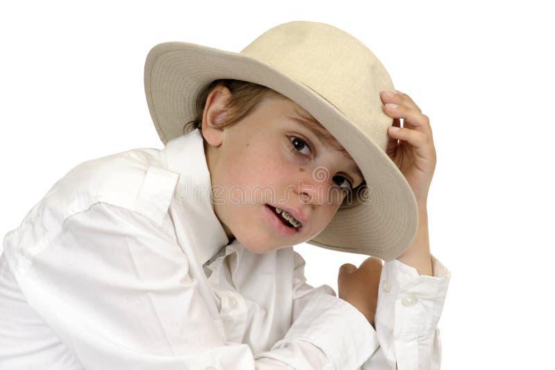 детеныши портрета мальчика стоковые фото