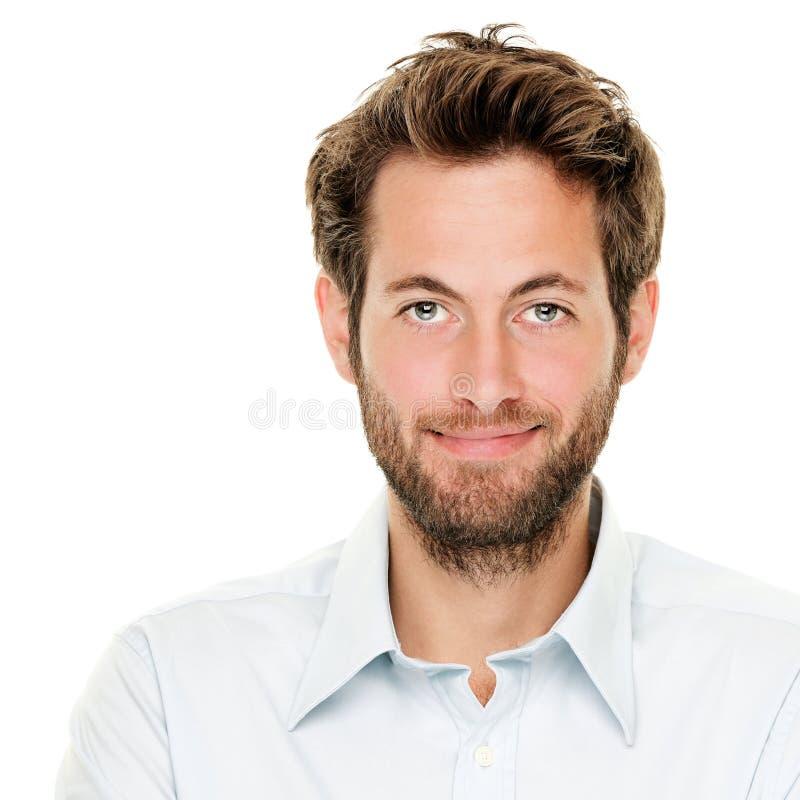 детеныши портрета человека стоковое изображение rf