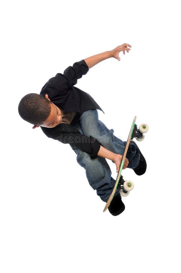 детеныши скейтбордиста стоковые изображения rf