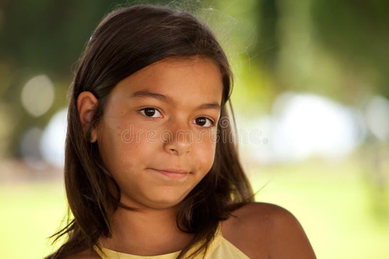 детеныши стороны ребенка стоковая фотография