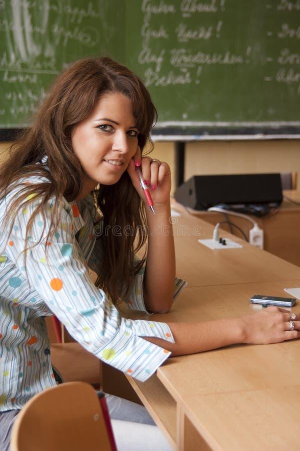 детеныши студента класса стоковая фотография rf