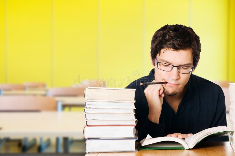 детеныши студента класса стоковое изображение rf