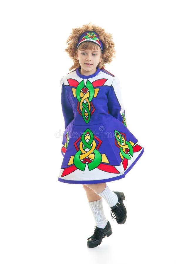 детеныши танцора ирландские стоковое фото rf