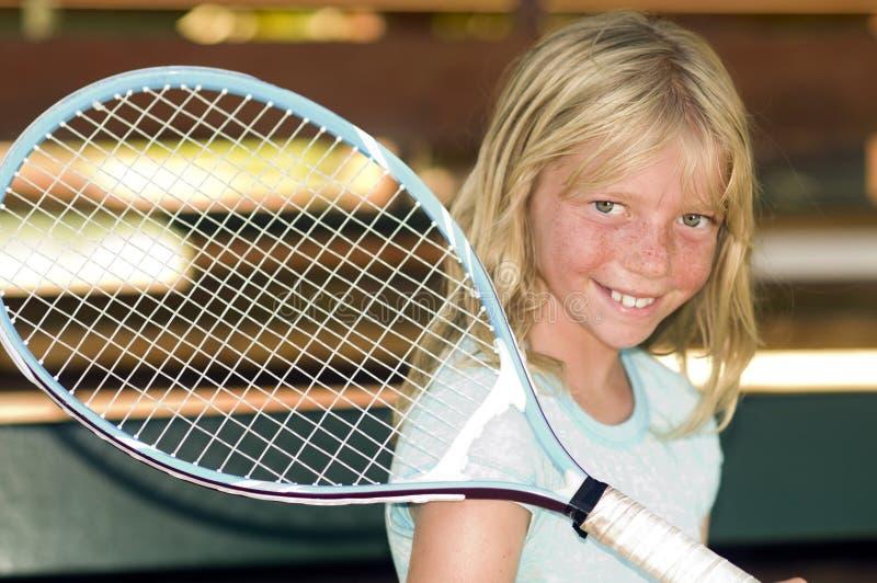 детеныши тенниса игрока стоковые фотографии rf