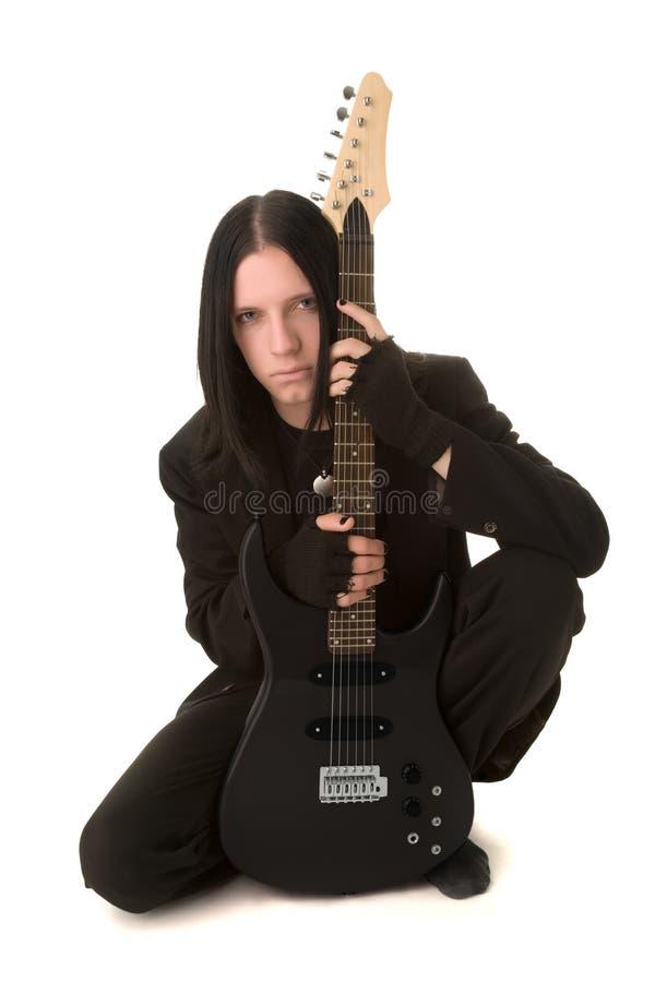детеныши человека goth стоковая фотография rf
