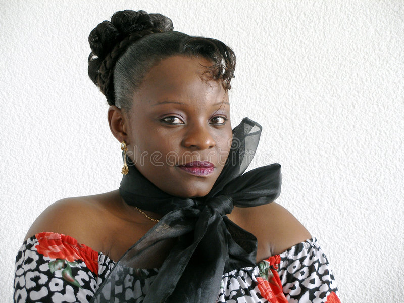 детеныши чернокожей женщины стоковые изображения