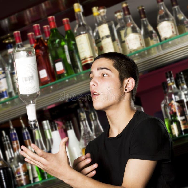 детеныши barman стоковое фото rf