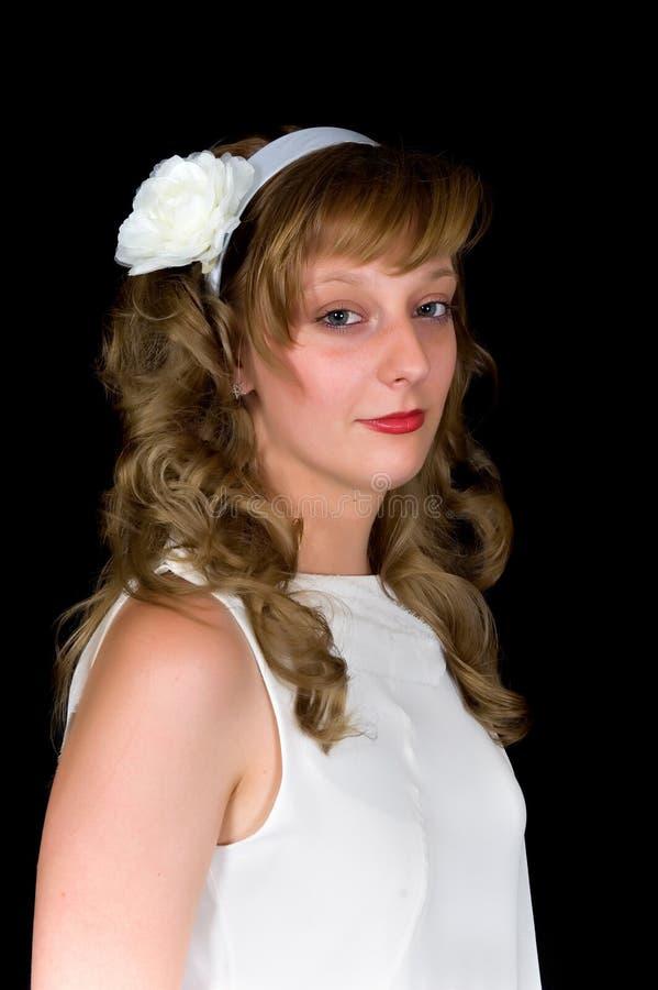 детеныши portait невесты стоковая фотография