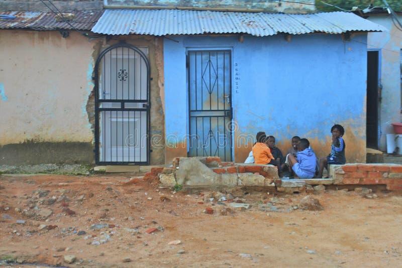 дети Африки южные стоковые фото