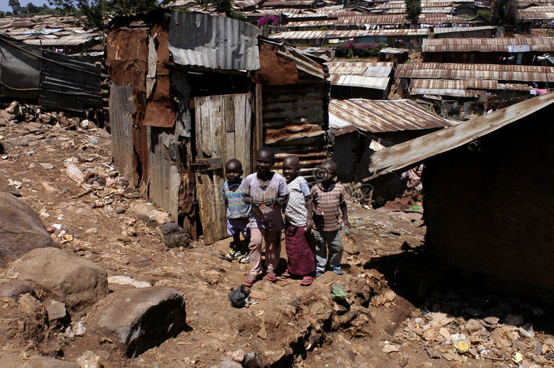дети Африки стоковые изображения