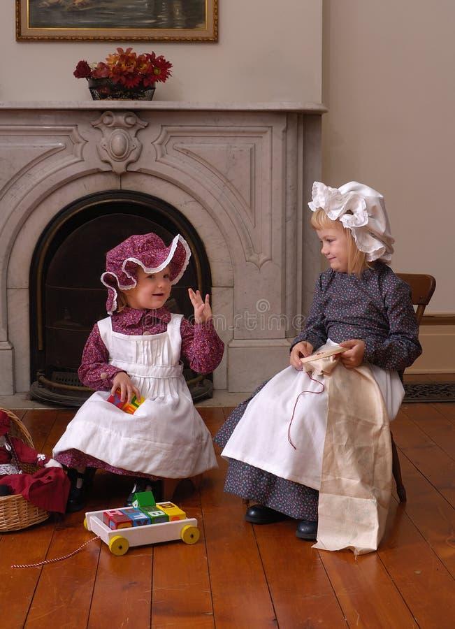 Download дети викторианские Стоковое фото RF - изображение: 4564375