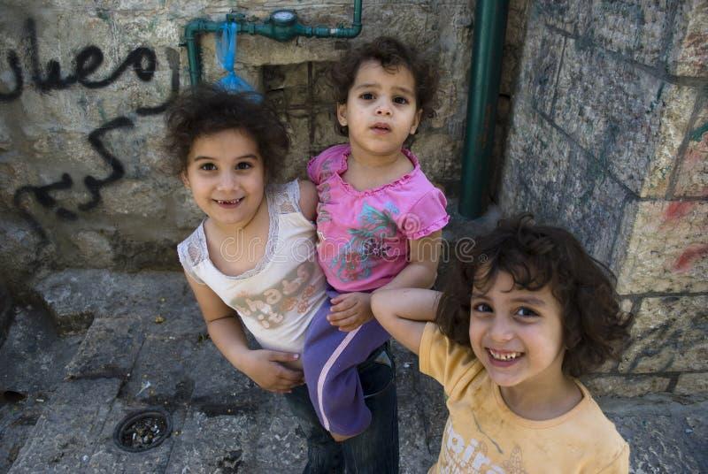 дети Иерусалим стоковые фото