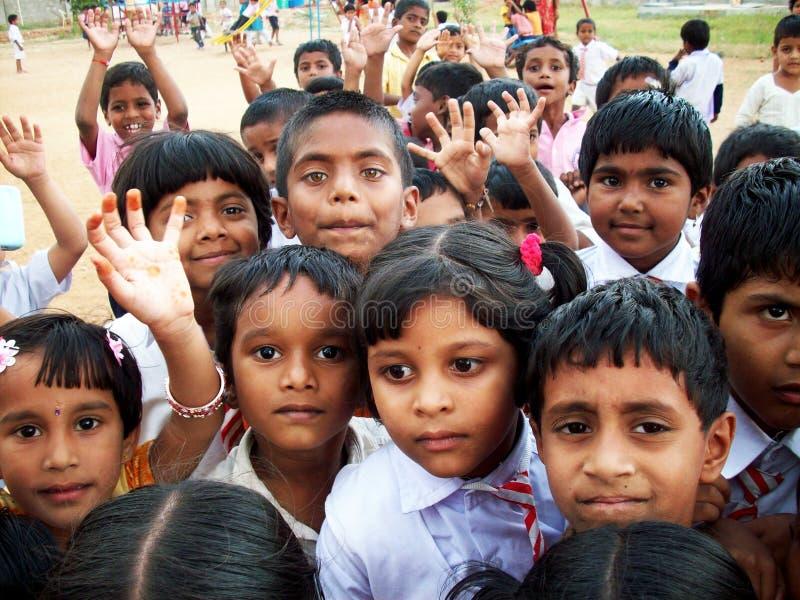 дети индийские стоковые фото