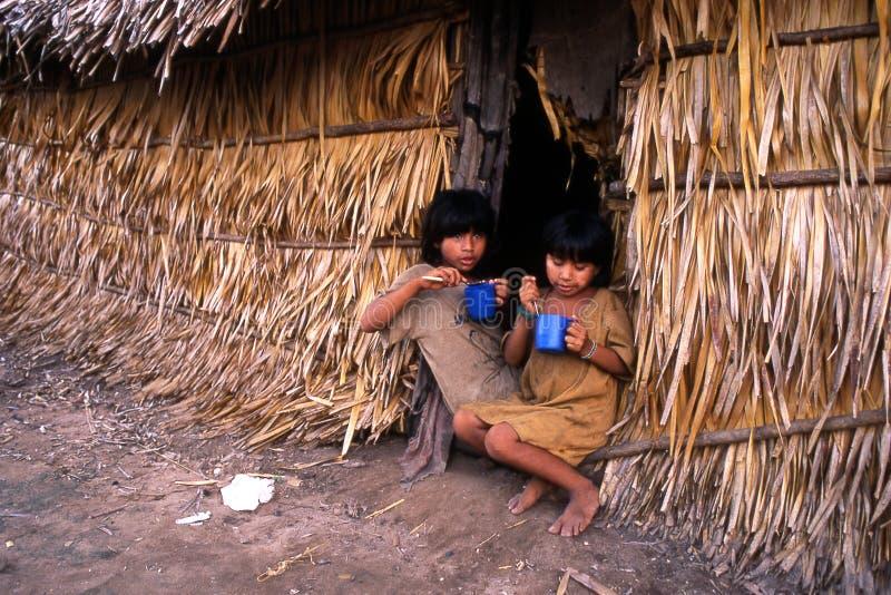 дети индийские стоковое фото