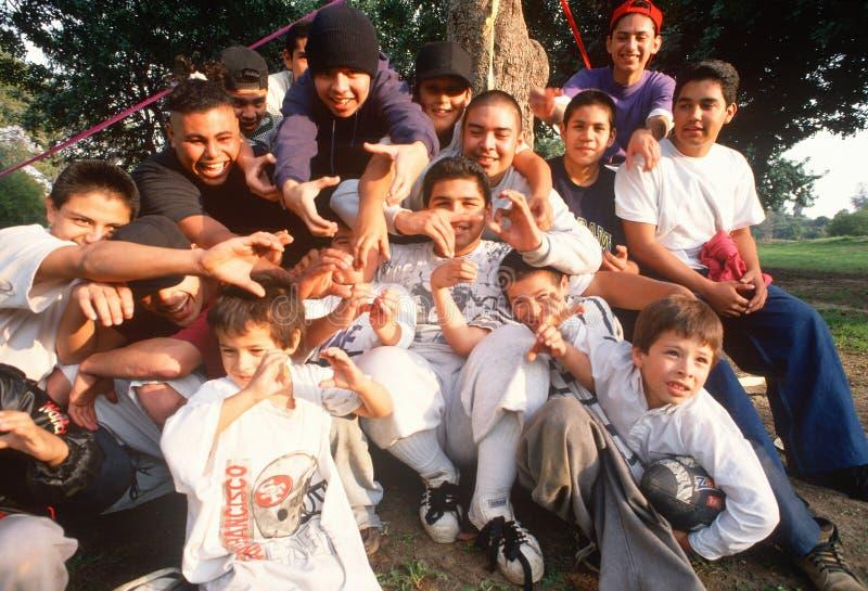Дети и подростки Latino стоковая фотография rf