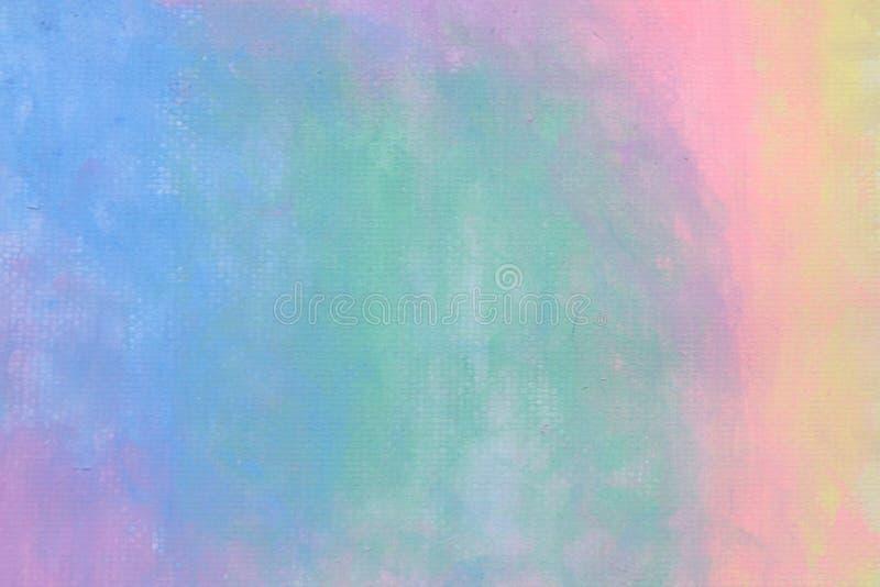 Дети красят красочную предпосылку пастели акварели стоковые фотографии rf