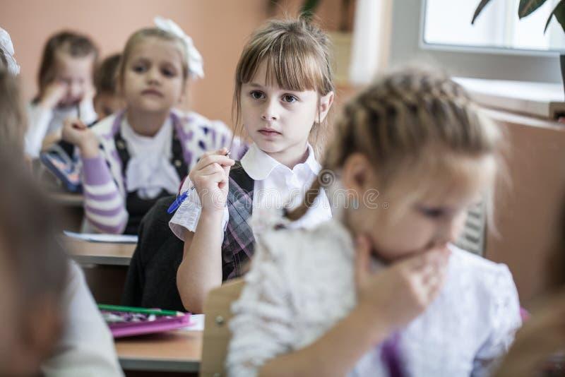 Дети от начальной школы стоковое фото rf