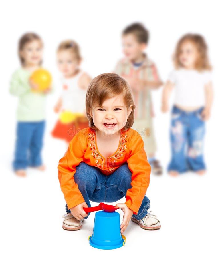 дети собирают немногую стоковые изображения