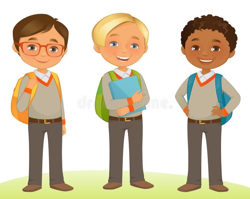 Дети студента бесплатная иллюстрация