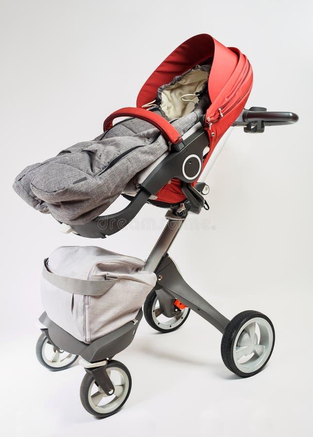 Детская дорожная коляска элиты Норвегии стоковое изображение