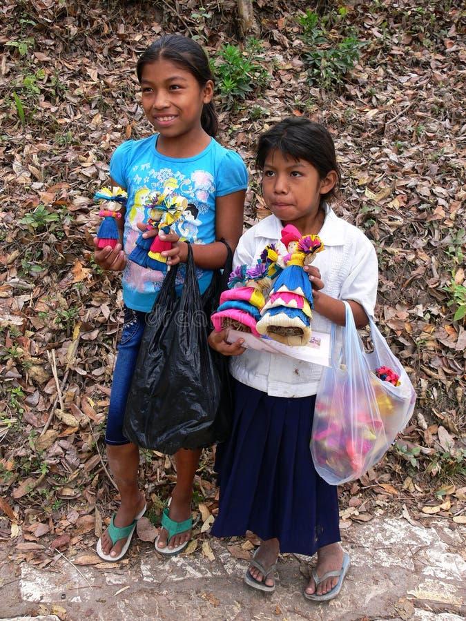 Детский труд Гондурас стоковые фотографии rf