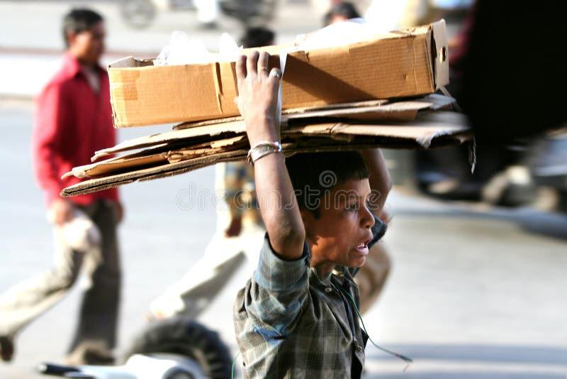 Детский труд стоковая фотография