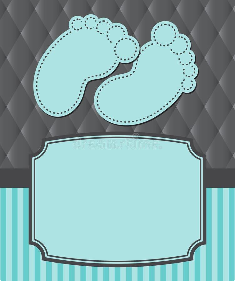 Детский душ иллюстрация штока