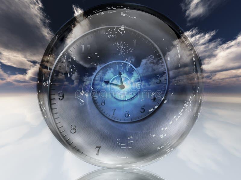 Деформация времени бесплатная иллюстрация