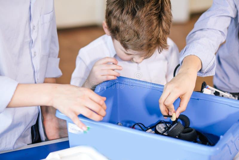 Деятельность для малых детей Сообщение и цифровая концепция стоковые изображения rf