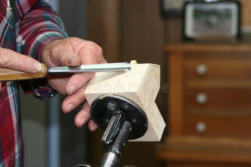 деятельность древесины гравера стоковые изображения rf