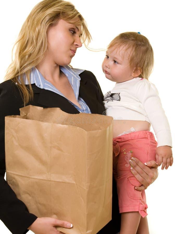 деятельность мамы стоковые изображения