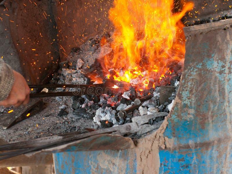 деятельность предмета blacksmith стоковая фотография rf