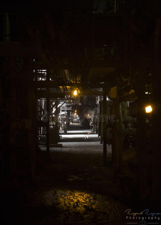 Деятельность темноты стоковые фотографии rf