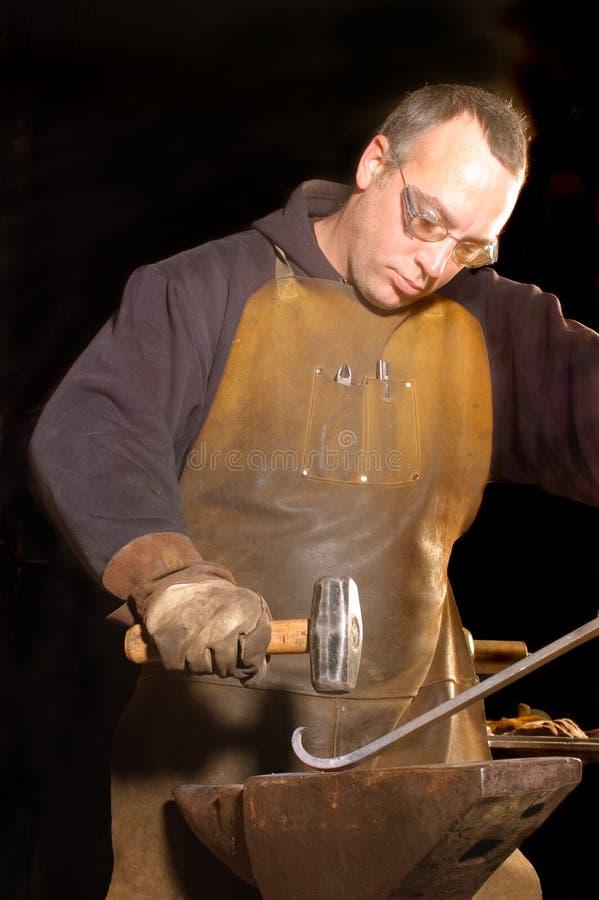 Деятельность Blacksmith стоковое изображение rf