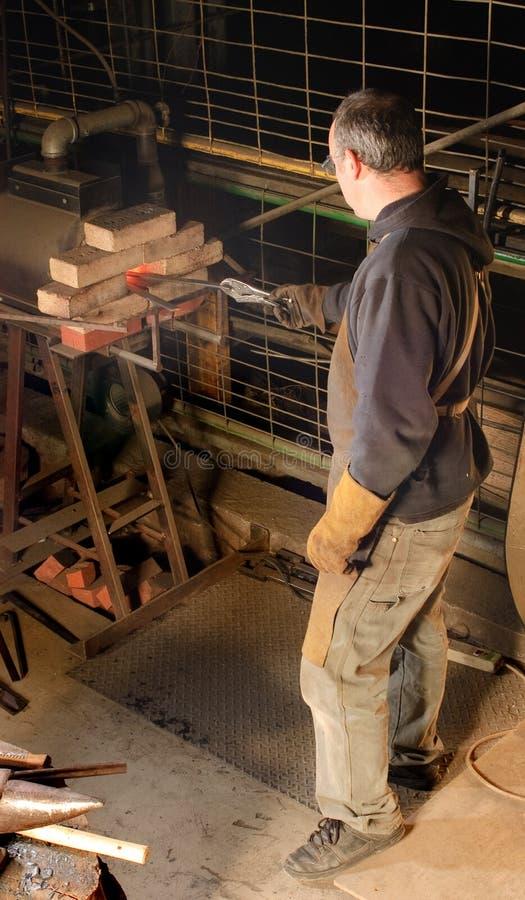 Деятельность Blacksmith стоковая фотография rf