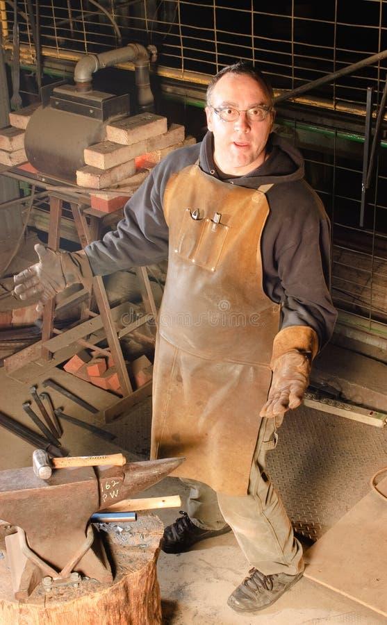 Деятельность Blacksmith стоковое фото