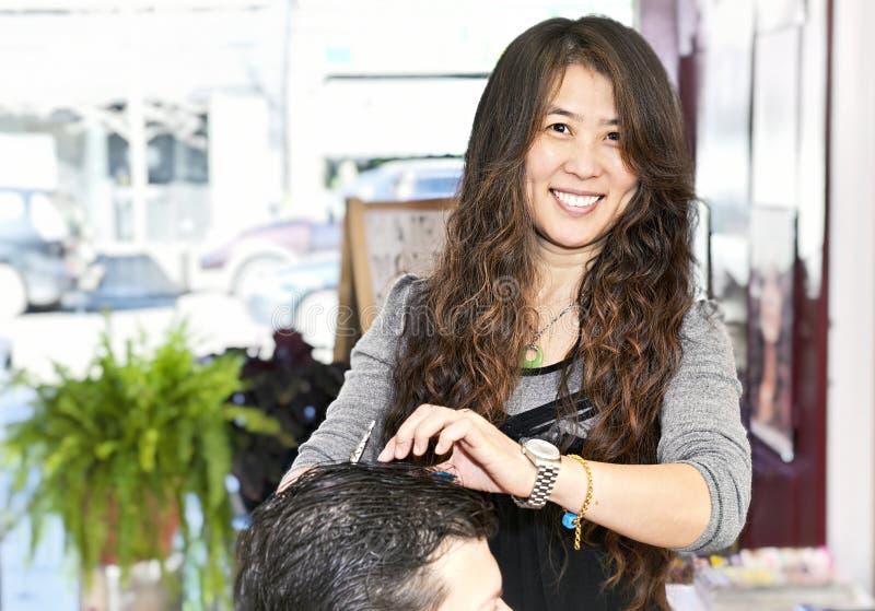 деятельность hairstylist стоковое фото