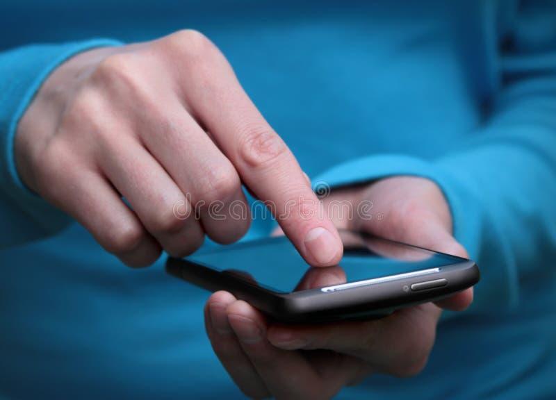 деятельность smartphone стоковая фотография rf