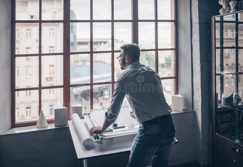 Деятеля в студии стоковое фото