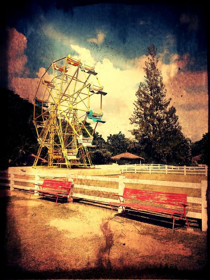 Деятельности при лета фермы парка потехи стоковая фотография rf