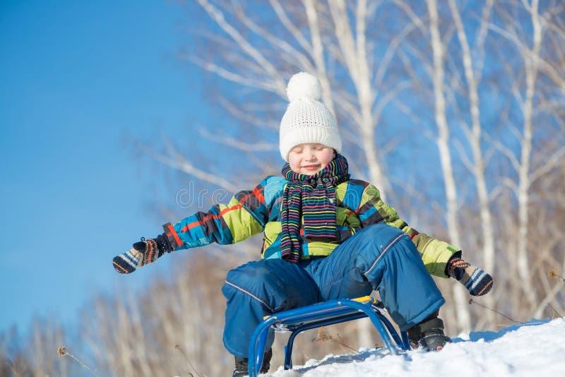 Деятельность при зимы стоковая фотография rf