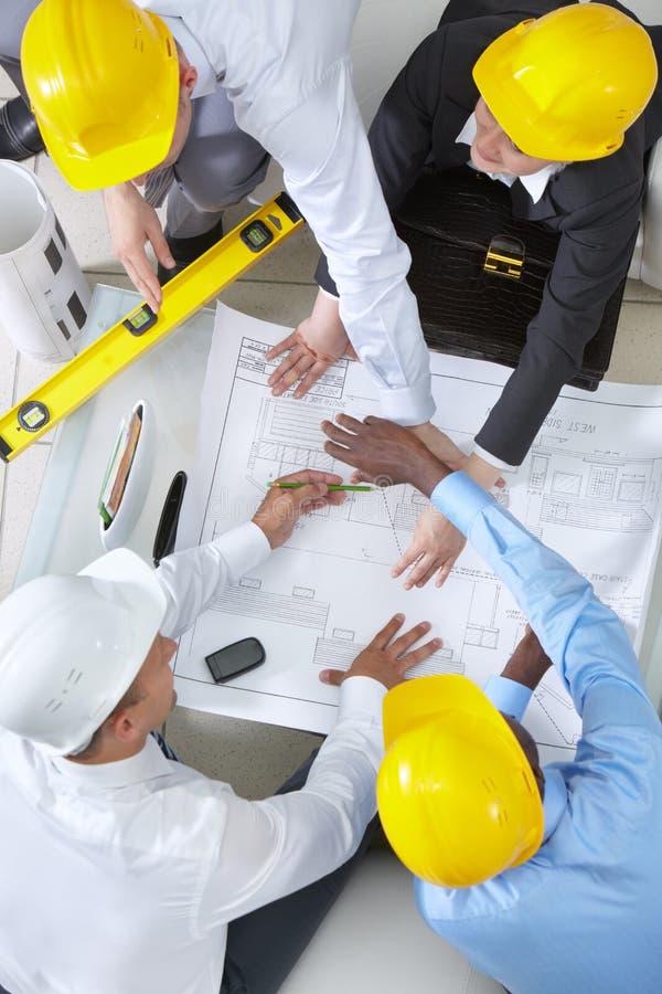 Делать проект жилищного строительства стоковое фото rf
