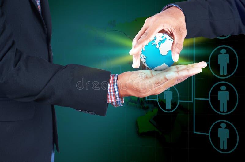 Дело, новая технология и концепция офиса стоковое изображение rf