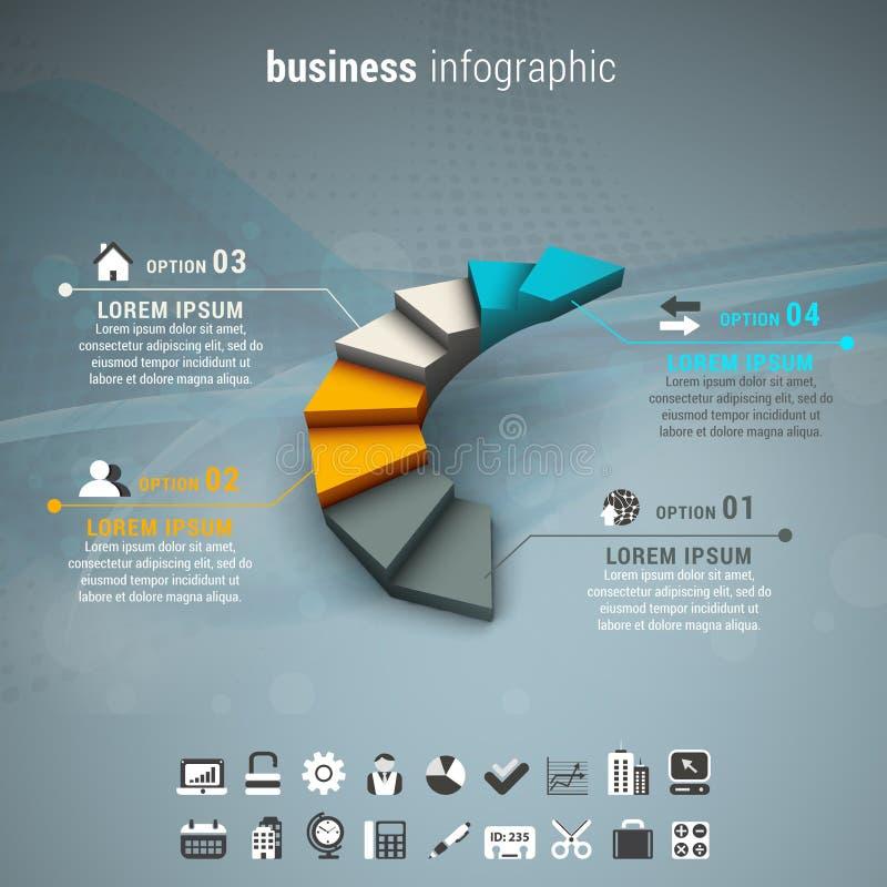 Дело Infographic бесплатная иллюстрация